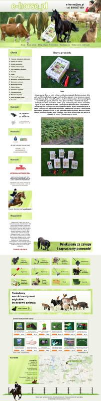 Szablon Allegro E-Horse
